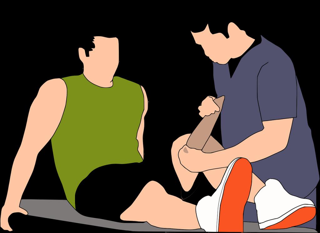 פגיעה ברגל