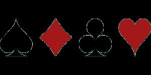 צורת של קלפים